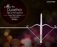 We wish you & your loved ones a very Happy Dussehra! Let the celebration begin with ColorBar: www.colorbarcosmetics.com #LoveColorBar #HappyDussehra #Festival