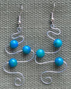 """Celtic """"Waterfall"""" Earrings"""