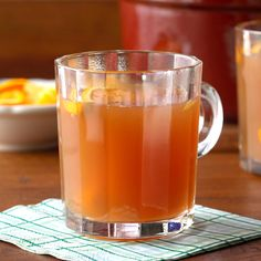 Grandma's Secret Last-Minute Holiday Recipes - Cider Wassail Punch – Taste of Home - Wassail Recipe Easy, Punch Recipes, Drink Recipes, Cranberry Juice, Christmas Cocktails, Taste Of Home, Exotic Fruit