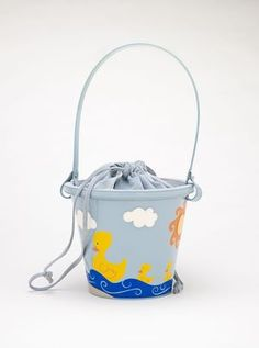 Franco Moschino, Purse 'Sand Pail', 1990s.