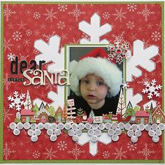 Dear Little Santa Layout