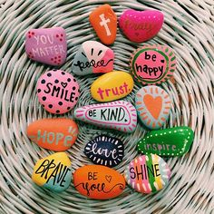 """Do small acts of kindness with great love"" Today, I am spreading kindness around my town with these positivity rocks that I made. It's apart of the Love Is Action Movement; you can find out more about them on their page. Hopefully these rocks will brighten someone's day even in a small way! I want to challenge you guys to find a small way to bring kindness and positivity to others, trust me, it will make a difference! Stay awesome, lovelies!!! xoxo #sharepositivity #loveisaction #kindn..."