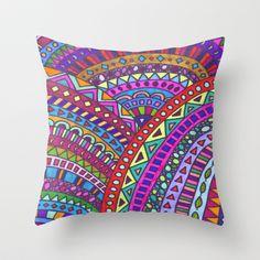 Equinox Throw Pillow by Erin Jordan - $20.00