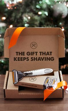 Did you know the holidays are coming? They're coming. And those hard-to-shop-for people on your list aren't going to get any easier to shop for. Luckily, the DSC Holiday Shave Set has everything they need for a delightfully smooth shave. Customize it for any budget and any size gift. Choose 12-months of the Executive Razor, and we'll include our new DSC Traveler Bag ($25 value) at no extra cost. Let's get gifting→