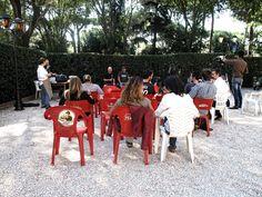 #flep2013 Parco Monumentale // Bolle rosse (Edizioni Estemporanee) incontro con ALFONSO ISINELLI