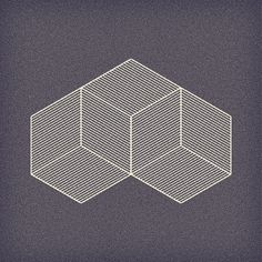 fabriciomora:    Experiments in Perception  Experiments in perception; ambiguous cubes in isometric perspective, although not an impossible object.
