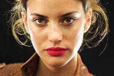 ALEJANDRA ALONSO , where can I get this lipstick color? Mac?