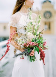 Photography: Isabelle Hesselberg / 2 Brides Photography - 2brides.se Read More: http://www.stylemepretty.com/destination-weddings/2015/02/04/swedish-seaside-sinter-wedding-inspiration/