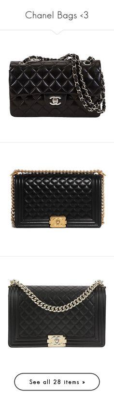 """Chanel Bags <3"" by gabriel-sampaiooo on Polyvore featuring bags, handbags, shoulder bags, bolsas, chanel, purses, black, chanel purse, chanel handbags e vintage handbags purses"