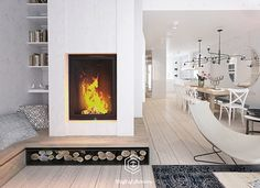 House in Warsaw on Behance