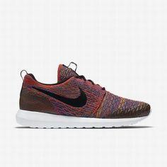 new arrival 849f0 3164e  97.26 lifestyle nike,Nike Mens Bright Crimson Green Strike Game Royal Black  Roshe NM Flyknit SE Shoe