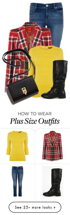 """""""Untitled #13507"""" by nanette-253 on Polyvore featuring maurices, Vivienne Westwood Red Label and Warehouse"""