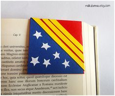 Wonder woman corner bookmark by maliksbureau on Etsy - origamide
