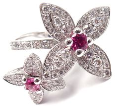 It's Authentic! Louis ... season! Newly added to Fortrove.com. Find it here! http://fortrove.com/products/authentic-louis-vuitton-les-luxuriantes-18k-gold-diamond-pink-sapphire-ring?utm_campaign=social_autopilot&utm_source=pin&utm_medium=pin #MakeAnOffer