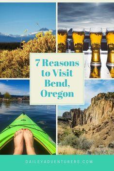 7 reasons to visit Bend, Oregon! #TravelDestinationsUsaOregon #TravelDestinationsUsaWest