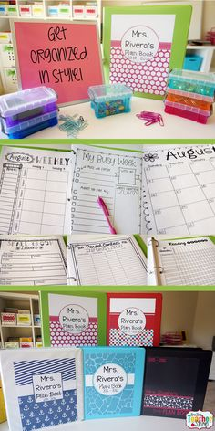 Classroom organization is important! My teacher binder helps me stay organized all year. Here are some of my favorite tips and ideas for putting together the best teacher binder or teacher planner. (I can't live without Teacher Binder, Teacher Planner, Teacher Tools, Teacher Resources, Teachers Toolbox, Teacher Stuff, Classroom Organisation, Teacher Organization, Classroom Management