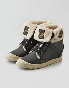 Palladium Ecudor Sneaker , Black | American Eagle Outfitters
