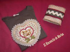 EL RINCONCITO DE MARISA: Camiseta y cinturón a juego para mi