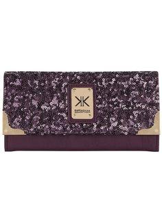 Kardashian purple sequin purse  #DPKK