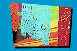 Papel Picado Mexican cut-outs - simple instructions good for kids