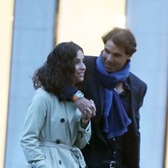 EXCLUSIVE Rafael Nadal and Xisca go for a romantic stroll after dinner date in Paris