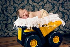 Another favorite newborn photo.