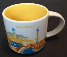 Starbucks Budapest Hungary YAH you are Here Coffee Cup Mug USA Seller With Box #Starbucks