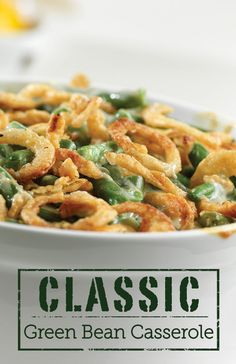 It's so easy, you can make it any day. But you'll want to make sure you have this delicious Classic Green Bean Casserole recipe ready once the holidays get started!