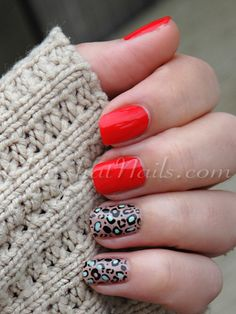 Animal Print Nail Art - Manicure Ideas With Leopard and Animal Print - Good Housekeeping