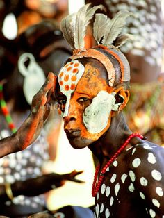 Karo tribe dancer photos by Carol Beckwith & Angela Fisher.