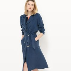 Long trench coat, 100% lyocell La Redoute Collections | La Redoute