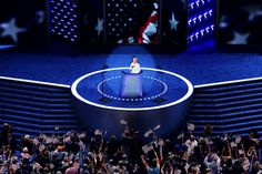 Hillary Clinton speaks at the DNC 2016  By Chip Somoevilla/Getty Images