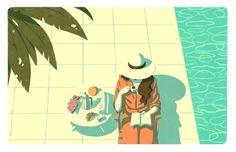 Spot illustrations for Keirsey Magazine on Behance