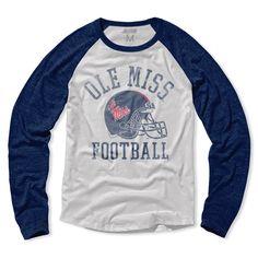 Ole Miss Rebels Football Raglan