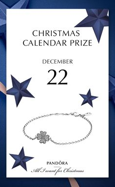 Lucky clover symbol bracelet. 22nd of December prize is a love reminder, that sometimes you just need a bit of luck! Also for finding the perfect gift! #PANDORA  #PANDORAchristmascontest | www.goldcasters.com