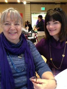 Carolyn and Glenda