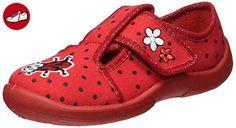 Fischer Baby Mädchen Mini Krabbelschuhe, Rot (Rot), 26 EU - Kinder sneaker und lauflernschuhe (*Partner-Link)