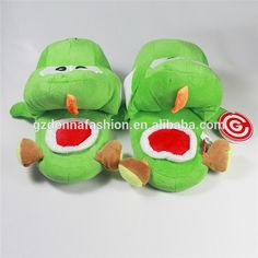Super Mario Yoshi Plush Slippers Little Green Dragons Warm Men And Women, View cute home shoe, donnatoyfirm Product Details from Guangzhou Donna Fashion Accessory Co., Ltd. on Alibaba.com