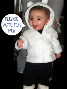 jayden is in the cutest baby contest he needs your votes to win all - Baby Grinch Halloween Costume