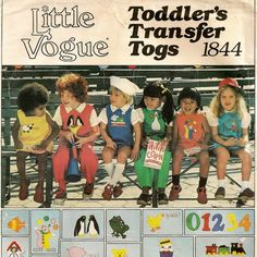 Vintage Vogue Toddler's Jumper, Jumpsuit, Bloomers, Blouse & Shirt Pattern by SoSewSome, $9.00
