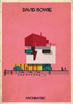 Galeria - ARCHIMUSIC: Ilustrações transformam música em arquitetura - 111