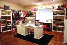 obsessed with this closet and it seems more realistic then some of the others ive pinned