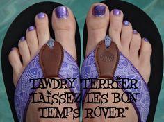 "@TawdryTerrier ""Laissez Les Bon Temps Rover"" - 1 bottle available at https://www.etsy.com/shop/TawdryTerrier #nailpolish #indienailpolish #tawdryterrier #mardigras"