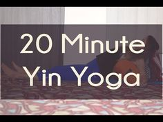 20 Min Yin Yoga Video with Bolster and Blanket — YOGABYCANDACE