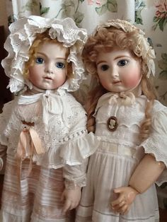 I Love these Dolls ~ A Bru and A Steiner ~
