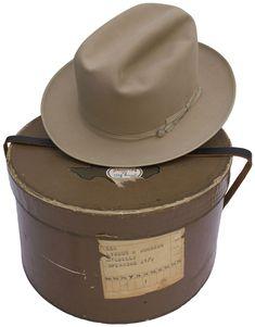 a7f178b327f Lot Detail - Lyndon B. Johnson s Personally Owned   Worn Stetson Hat --  Quintessential LBJ