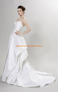 Herz-ausschnitt Schönste Brautkleider 2014 aus Taft