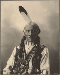 White Buffalo, Cheyennes Indian, circa 1898, Photograph by Frank A. Rinehart