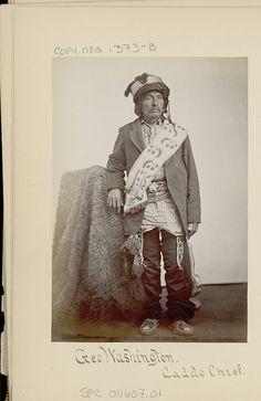 Show-E-Tat (aka Little Boy, aka George Washington) - Caddo - circa 1867