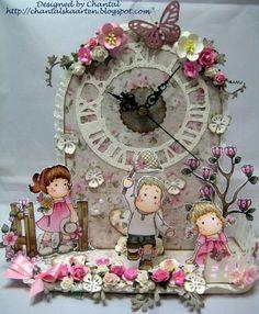Cards made by Chantal: Tik Tac goes the clock
